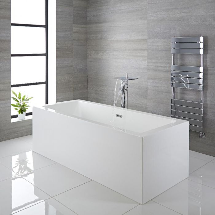 Come installare una parete doccia vasca hudson reed - Come installare una vasca da bagno ...