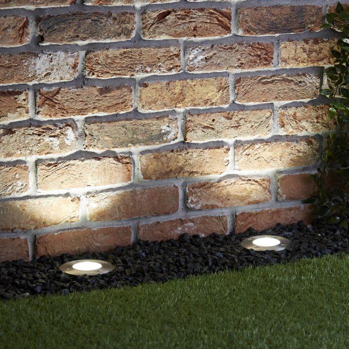 Biard LED da Incasso a Pavimento Circolare - Vilanoveta