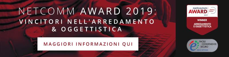 Vincitori Netcomm Award 2019 Categoria Arredamento & Oggettistica