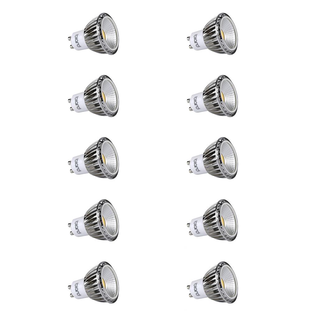 Image of Biard Set 10x Lampadine Spot LED Moderni COB 5W GU10 Equivalente a 50W