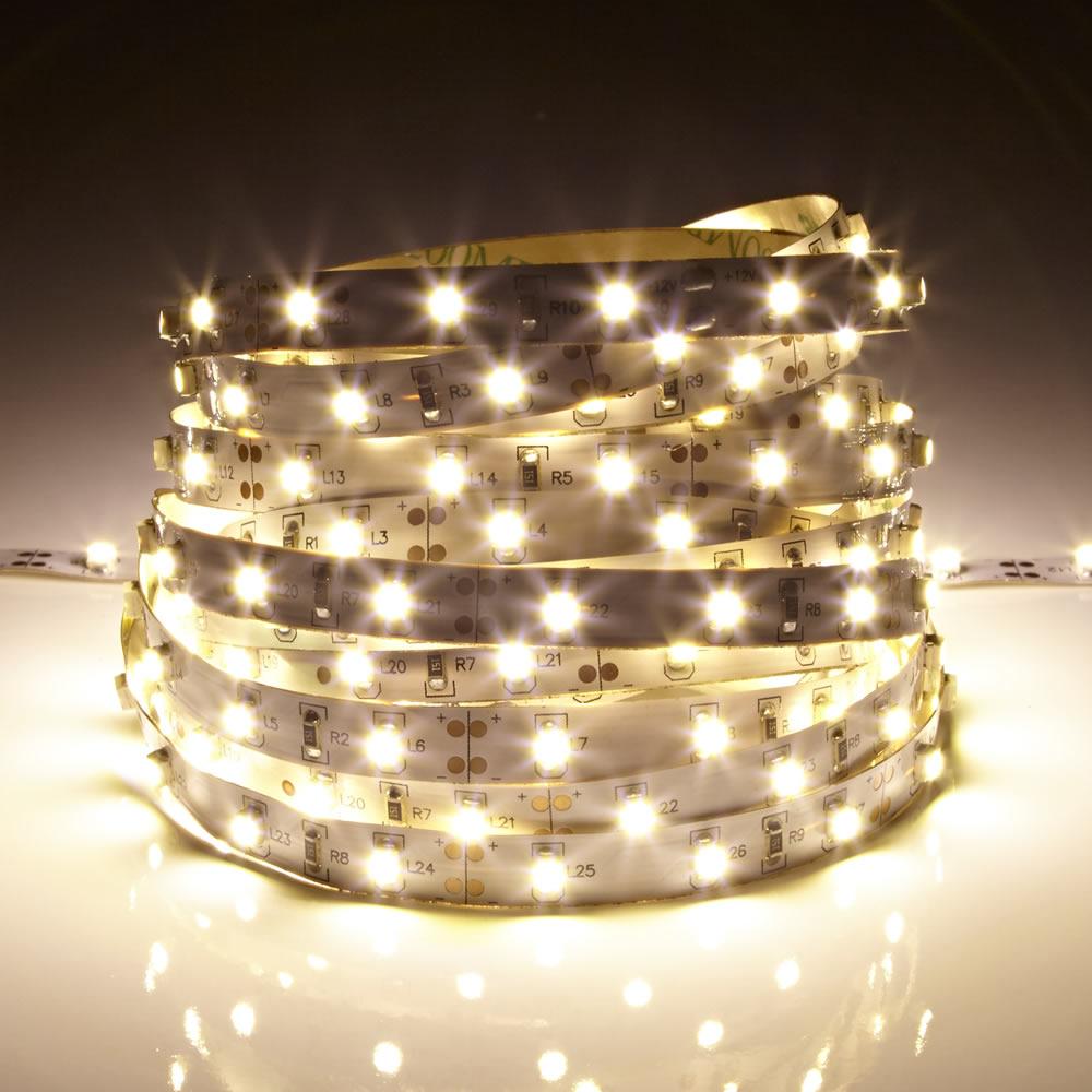 Image of Biard Strisce LED 5 metri Bianco Caldo 3528