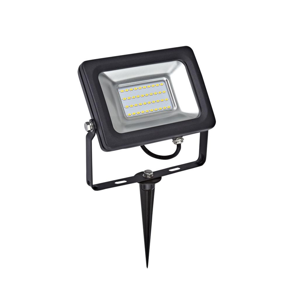 Image of Kit LED per Esterni Completo di Picchetto da Pavimento per Faretto Esterno LED 20 Watt