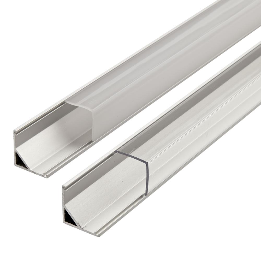 Image of Biard Copertura Alluminio per Illuminazione LED Finitura Bianca 100cm