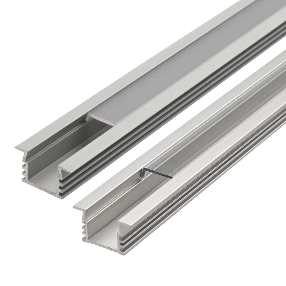 Image of Biard Copertura Alluminio per Illuminazione LED 100cm