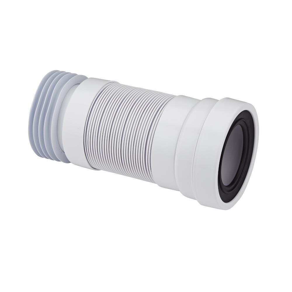 Image of Manicotto Flessibile Tubo di Raccordo WC Estensibile Entrata 97-107mm e Uscita 110mm  Propilene McAlpine