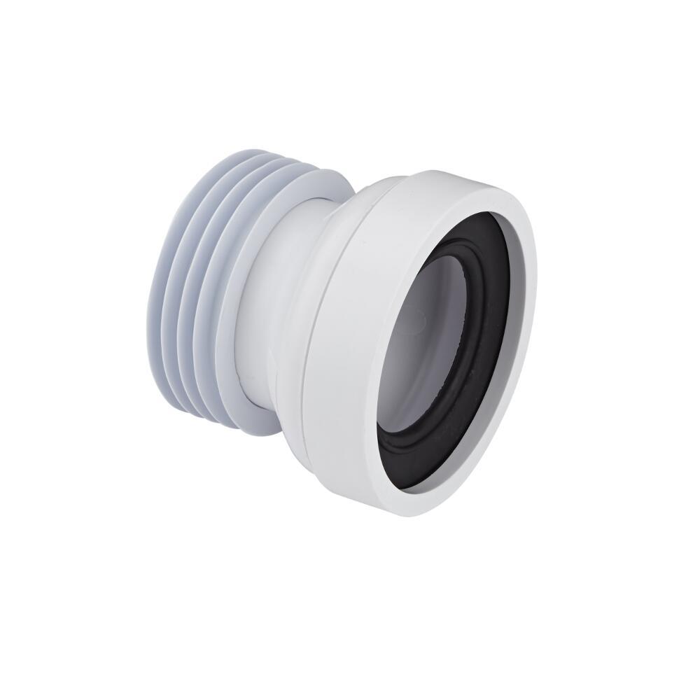 Image of Morsetto Prolunga per Scarico WC a Pavimento a Terra con Entrata da 97 a 107mm ed Uscita 110mm McAlpine
