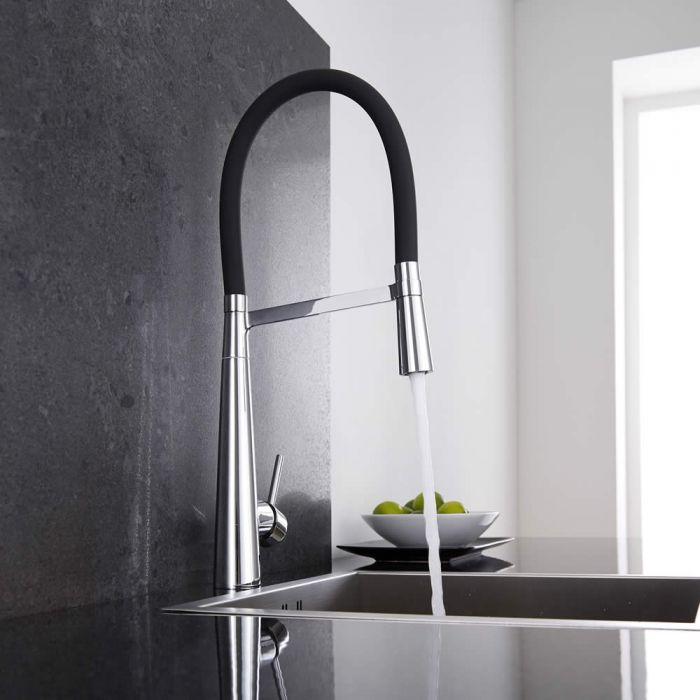 Come montare un rubinetto da cucina hudson reed for Rubinetto lavandino cucina