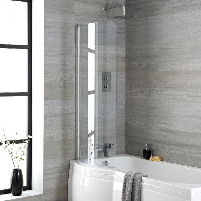 Come installare una parete doccia vasca hudson reed - Installare una vasca da bagno ...