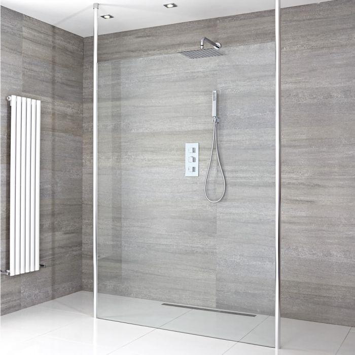 Come impermeabilizzare una doccia a filo pavimento hudson reed - Impermeabilizzare fughe piastrelle doccia ...