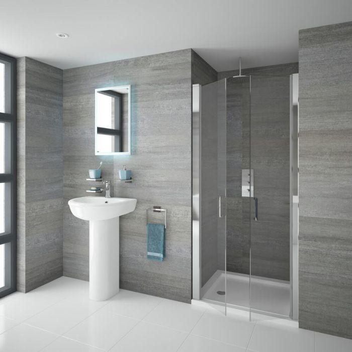 Come installare un box doccia hudson reed - Box doccia senza telaio ...